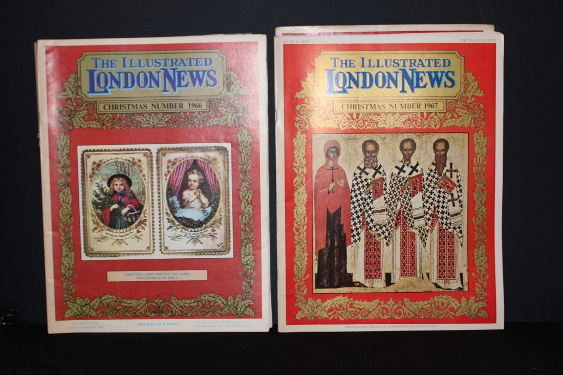 7 ISSUES OF THE ILLUSTRATED LONDON NEWS - 1