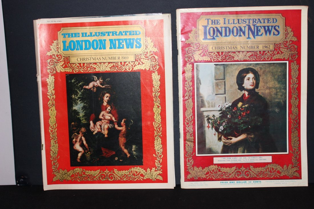 7 ISSUES OF THE ILLUSTRATED LONDON NEWS - 1 - 2