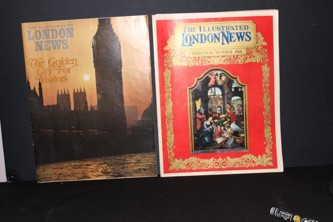 7 ISSUES OF THE ILLUSTRATED LONDON NEWS - 1 - 3