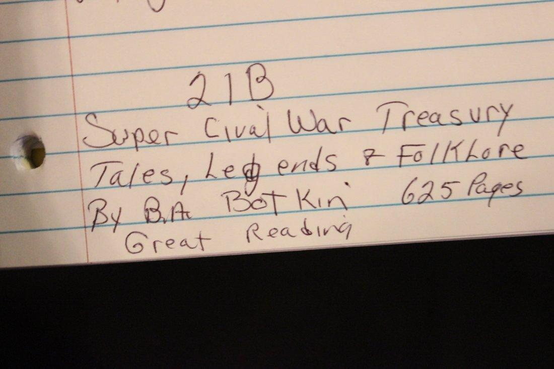 SUPER CIVIL WAR TREASURY TALES, LEGENDS & FOLKLORE - BY - 5