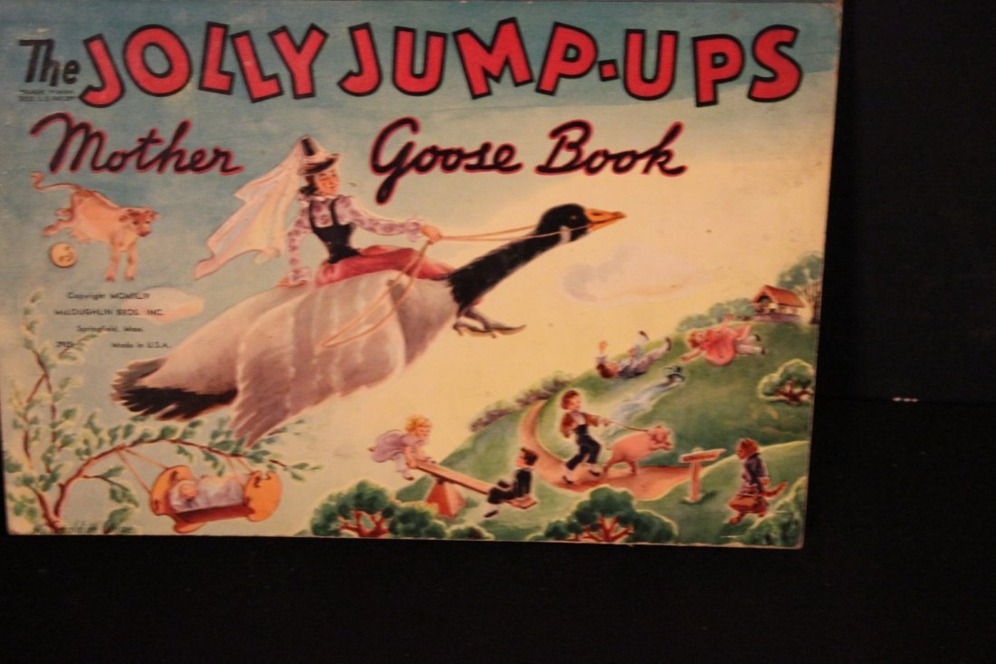 THIS IS A GREAT CHILDRENS BOOK - JOLLY JUMP-UP MOTHER
