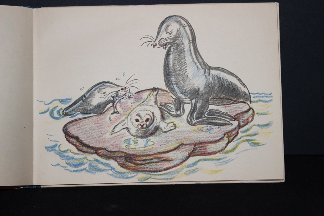 NICE CHILDRENS BOOK - SELWAY THE SEALION 1948 - VERY - 4