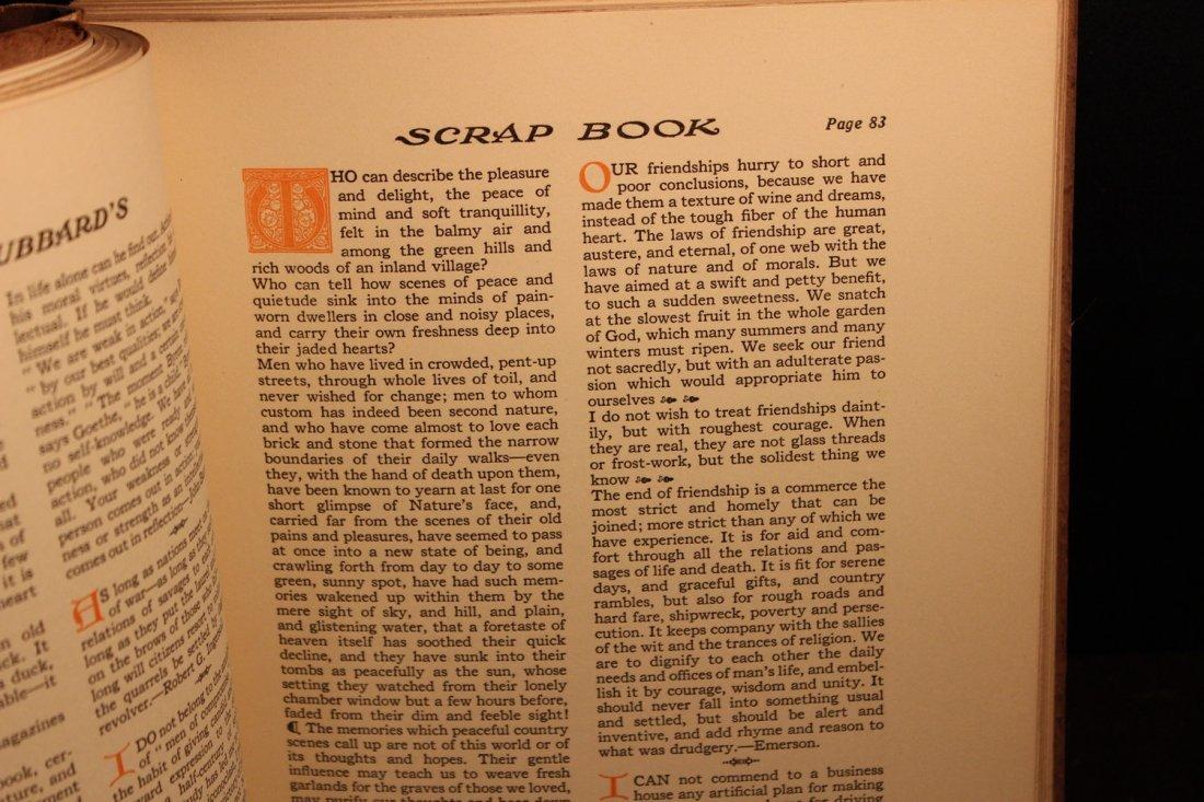 ELBERT HUBBARDS SCRAP BOOK -  NY: William H. Wise & Co - 3