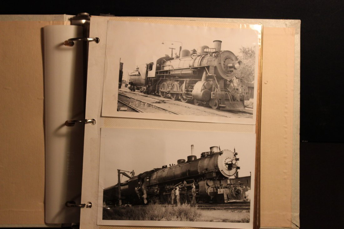 GREAT COLLECTION OF PHOTOS OF THE OLD TRAINS - A EXC.