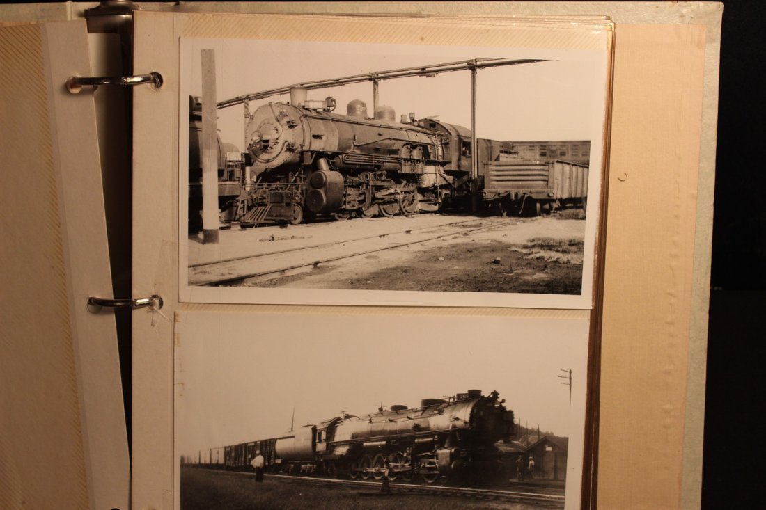 GREAT COLLECTION OF PHOTOS OF THE OLD TRAINS - A EXC. - 2