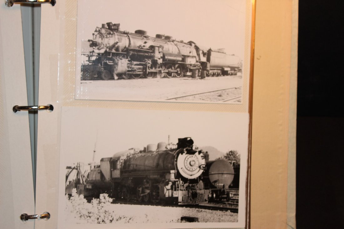 GREAT COLLECTION OF PHOTOS OF THE OLD TRAINS - A EXC. - 3