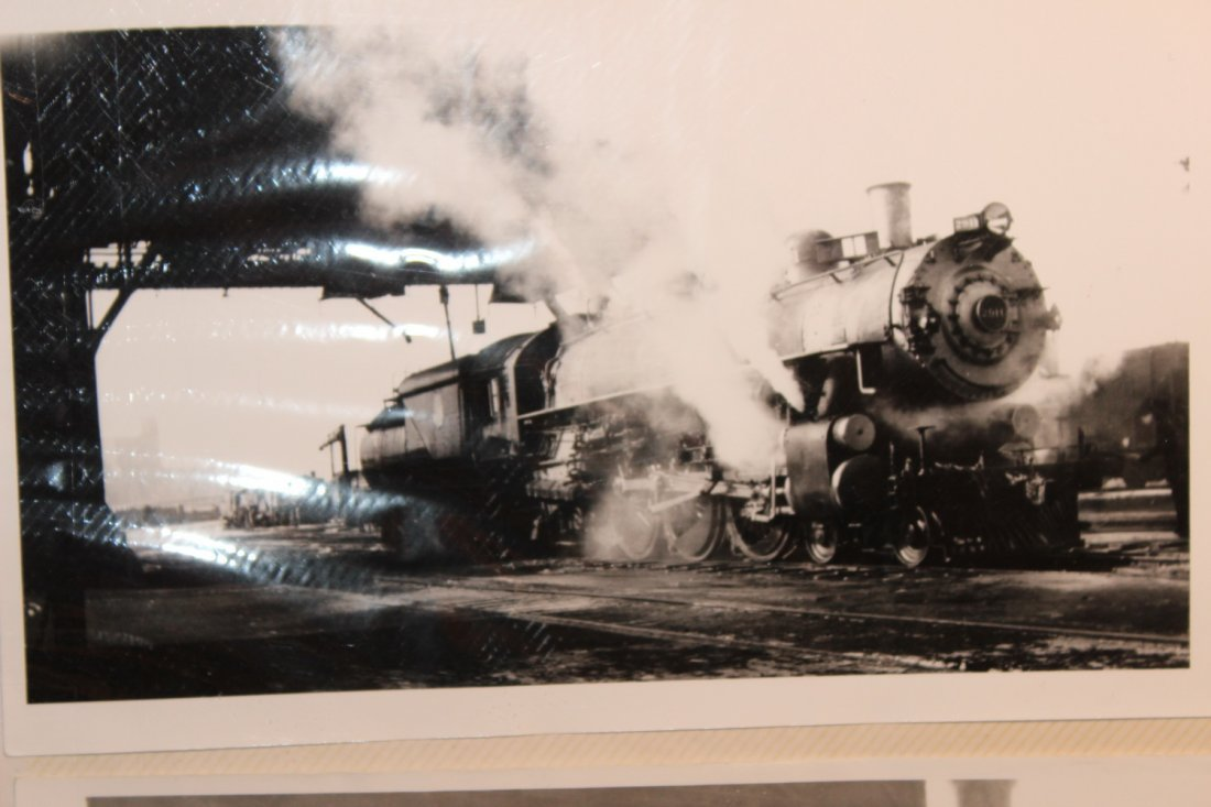 GREAT COLLECTION OF PHOTOS OF THE OLD TRAINS - A EXC. - 5