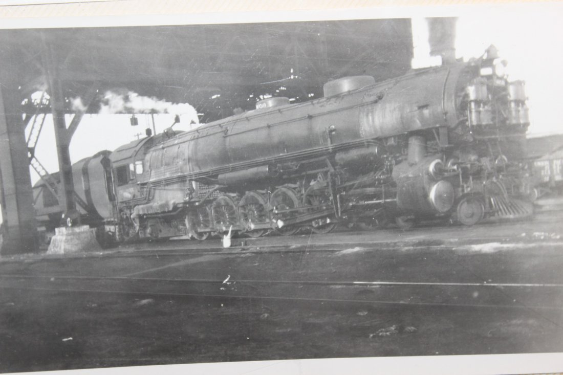 GREAT COLLECTION OF PHOTOS OF THE OLD TRAINS - A EXC. - 6