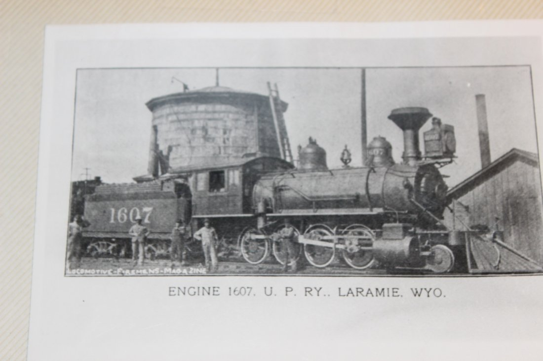 GREAT COLLECTION OF PHOTOS OF THE OLD TRAINS - A EXC. - 8