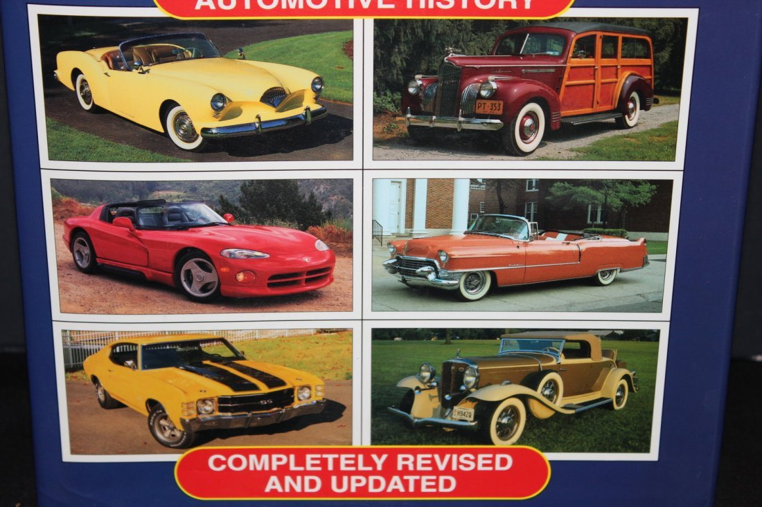 ENCYCLOPEDIA OF AMERICAN CARS - 65 YEARS OF HISTORY W/ - 2