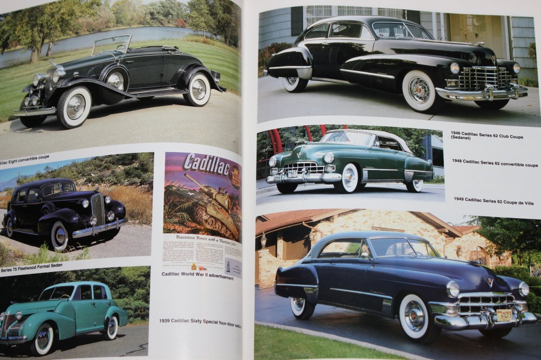 ENCYCLOPEDIA OF AMERICAN CARS - 65 YEARS OF HISTORY W/ - 5