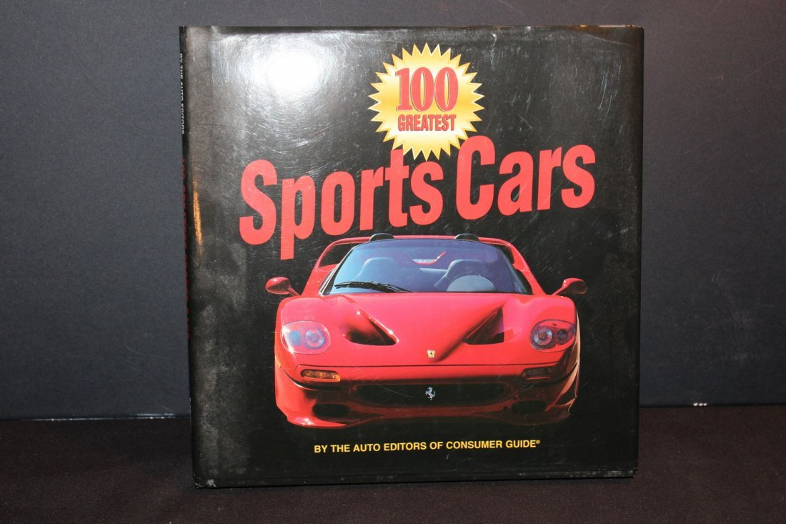 100 GREAT SPORT CARS 1997 - GREAT PICTURES - EXC. COND