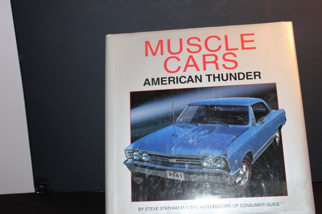 AMERICAN THUNDER MUSCLE CARS - LOT OF PICTURES - GOOD