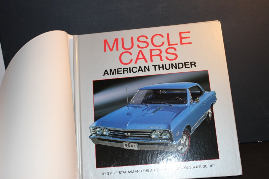 AMERICAN THUNDER MUSCLE CARS - LOT OF PICTURES - GOOD - 2