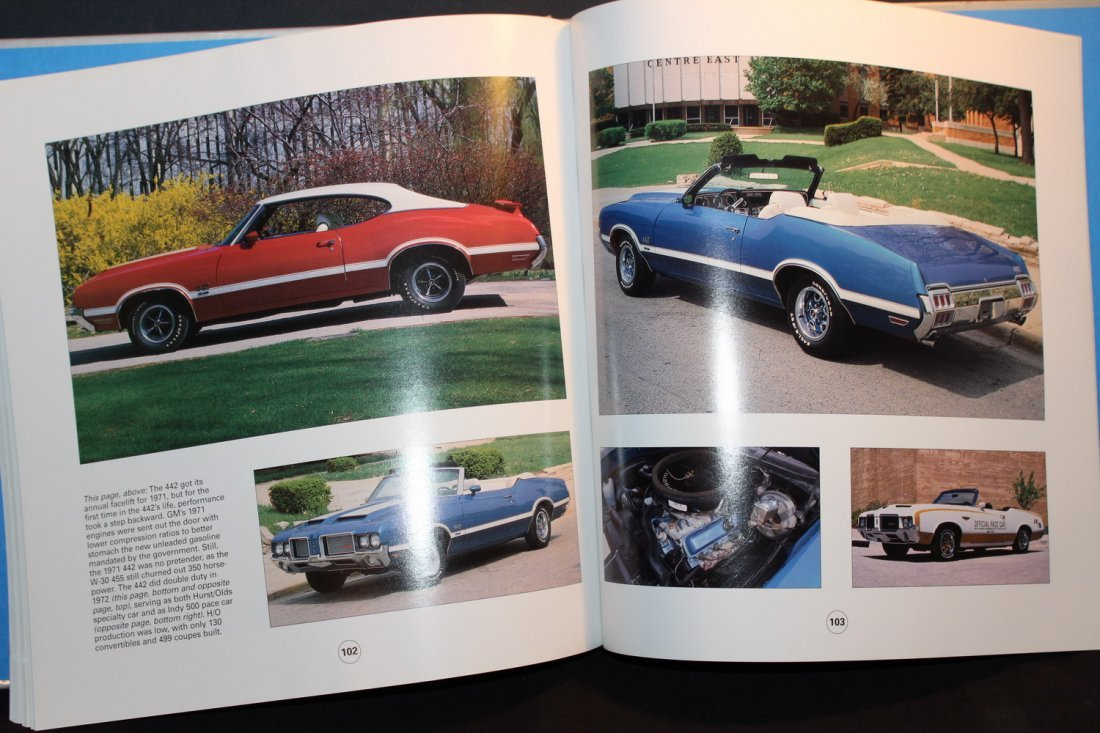 AMERICAN THUNDER MUSCLE CARS - LOT OF PICTURES - GOOD - 5