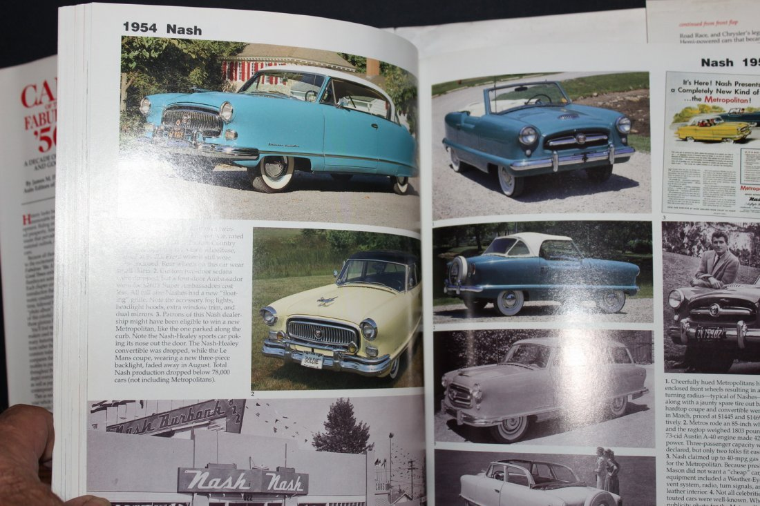 CARS OF THE FABULOUS 50'S BY JAMES FLAMMING 1995 WITH - 3