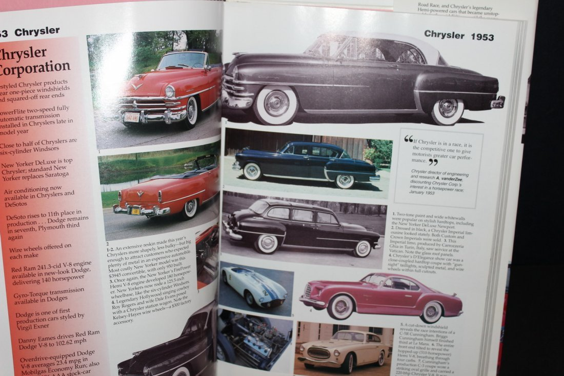 CARS OF THE FABULOUS 50'S BY JAMES FLAMMING 1995 WITH - 4