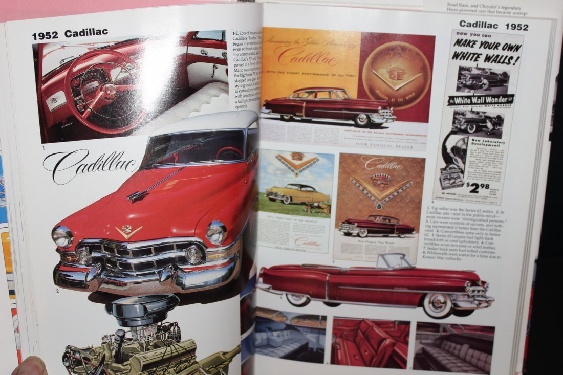 CARS OF THE FABULOUS 50'S BY JAMES FLAMMING 1995 WITH - 5