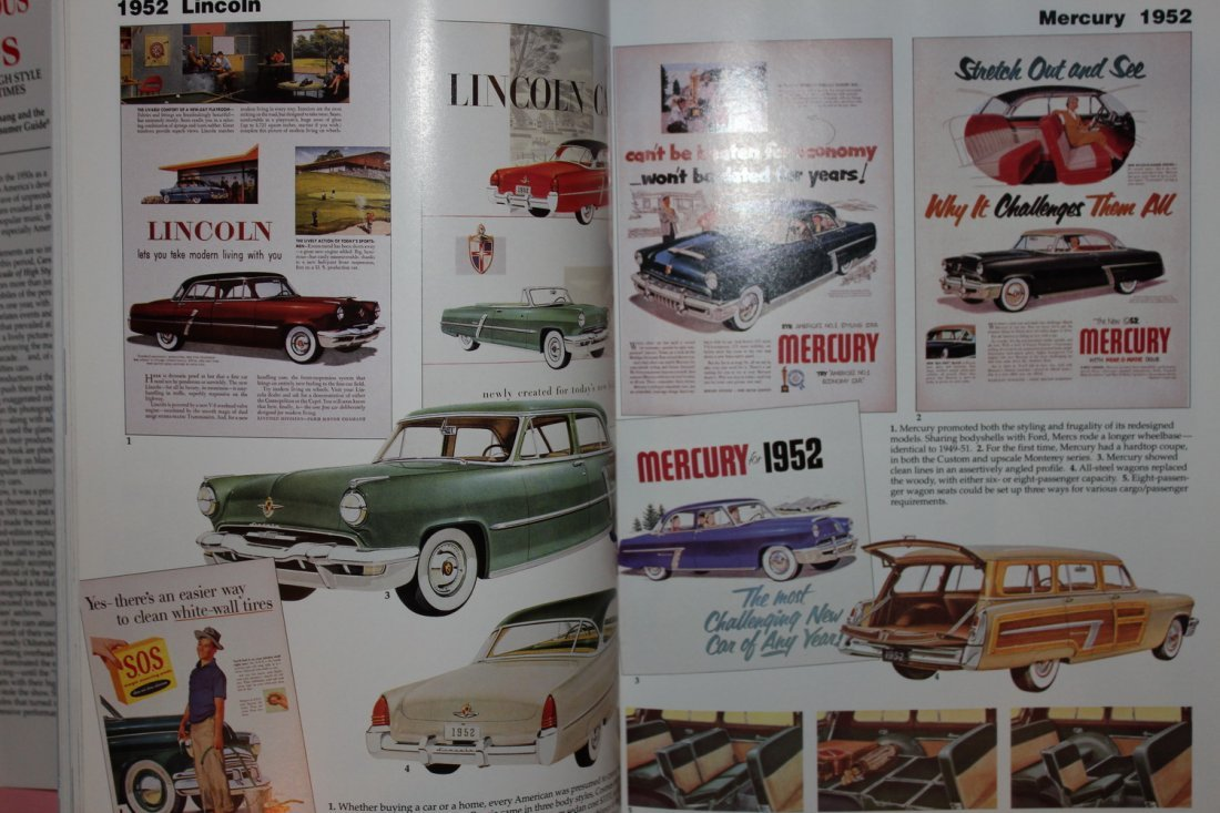CARS OF THE FABULOUS 50'S BY JAMES FLAMMING 1995 WITH - 6