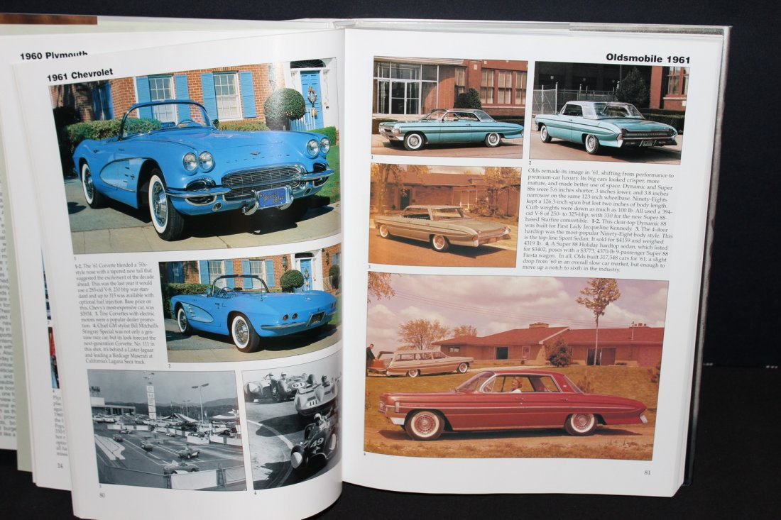 CARS OF THE SIZZLING 60'S - 416 PGS. 2002 GREAT - 3