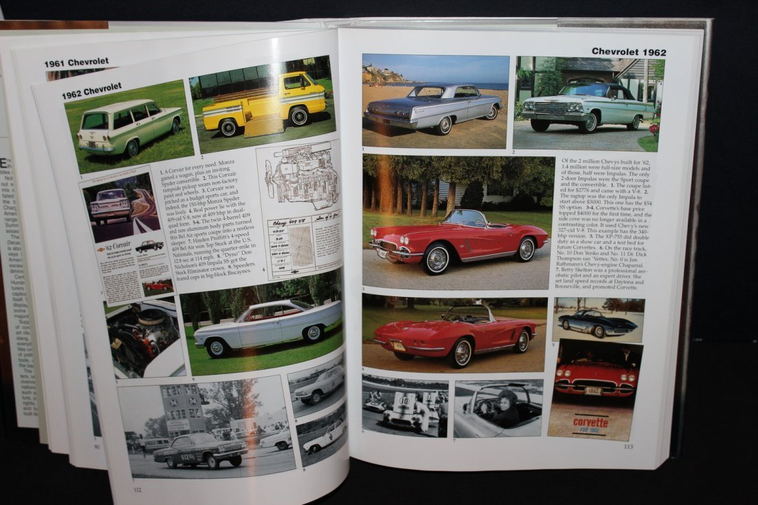 CARS OF THE SIZZLING 60'S - 416 PGS. 2002 GREAT - 4