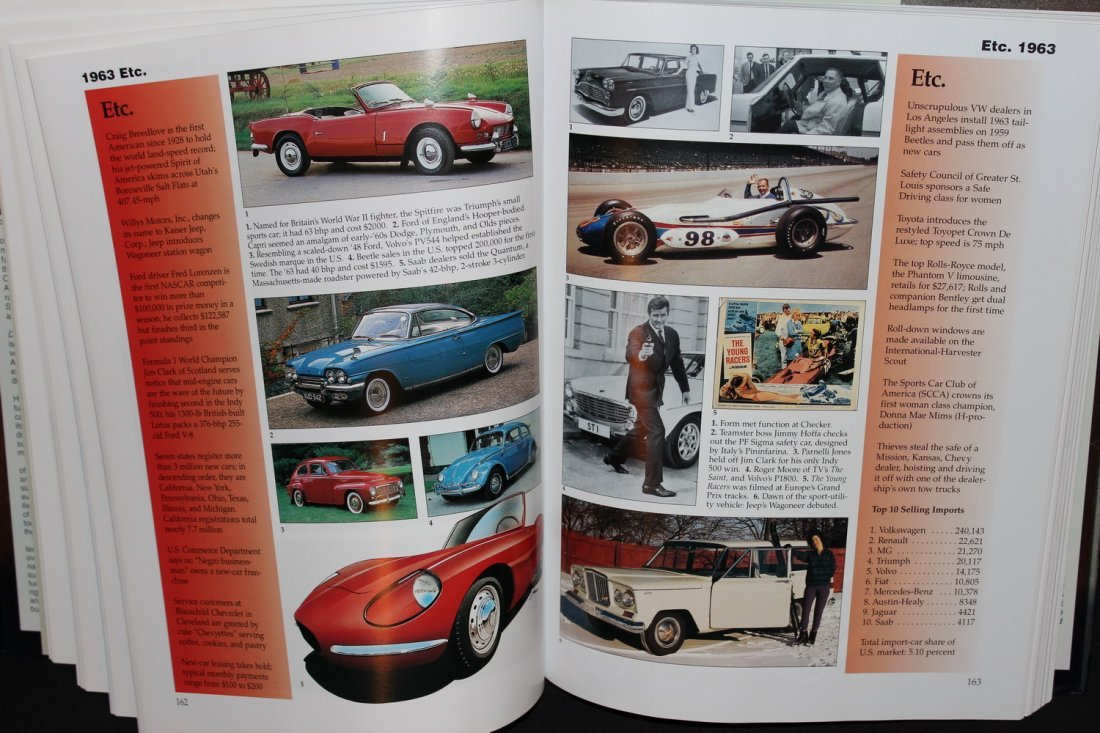 CARS OF THE SIZZLING 60'S - 416 PGS. 2002 GREAT - 5
