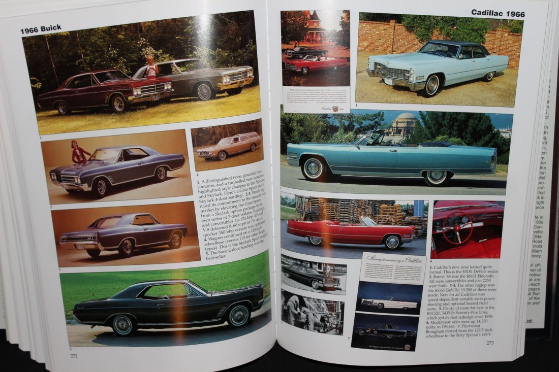CARS OF THE SIZZLING 60'S - 416 PGS. 2002 GREAT - 6