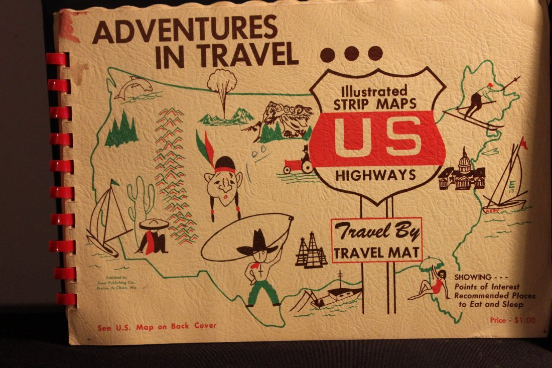 3 TRAVEL BOOKLETS 1956 RAND MCNALLY VACATION GUIDE - - 2