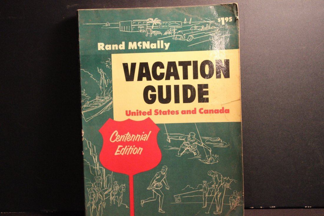 3 TRAVEL BOOKLETS 1956 RAND MCNALLY VACATION GUIDE - - 4