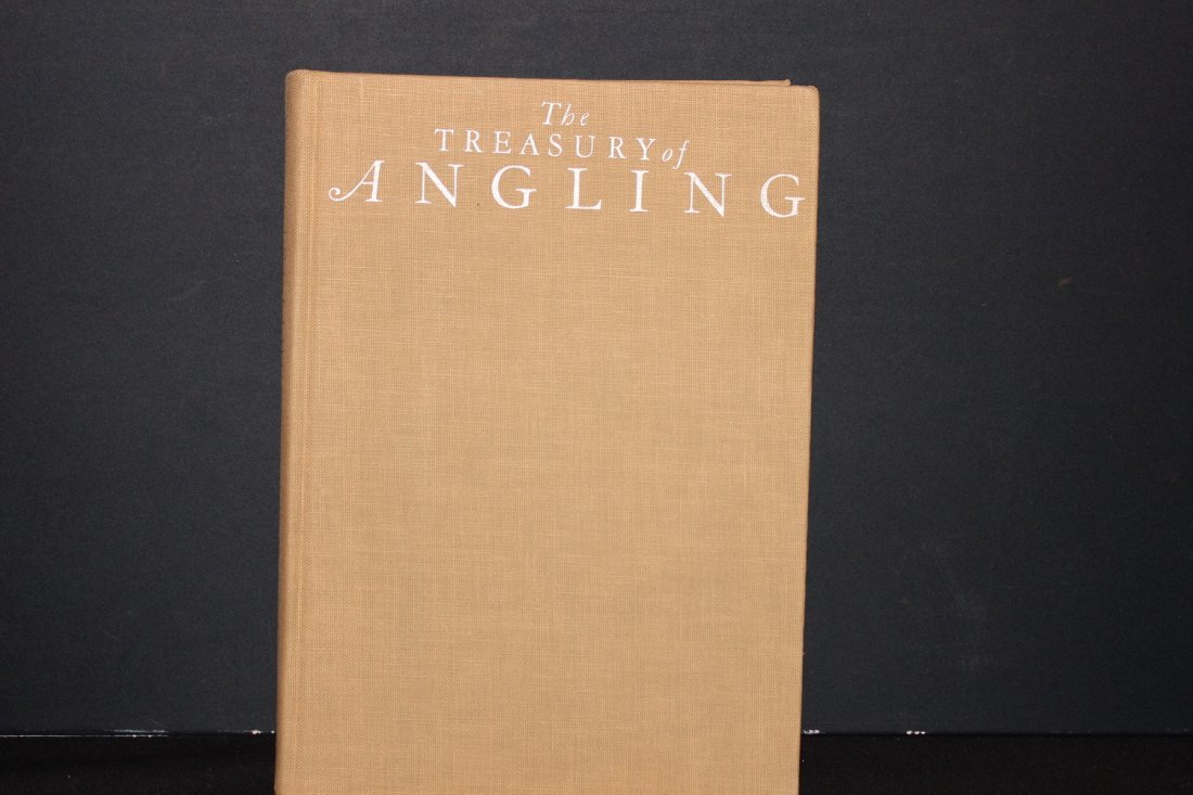 THE TREASURY OF ANGLING - GREAT BOOK FOR ALL FISHERMEN