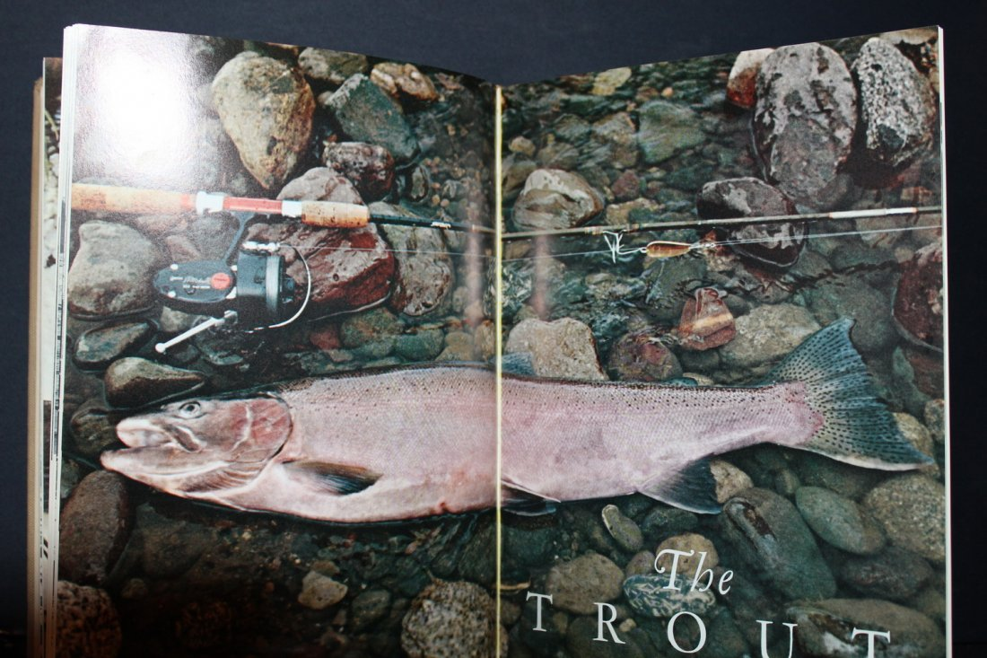 THE TREASURY OF ANGLING - GREAT BOOK FOR ALL FISHERMEN - 4