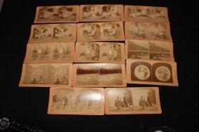 Great Lot Of 14 View Cards By B.w. Kilburn Littleton,