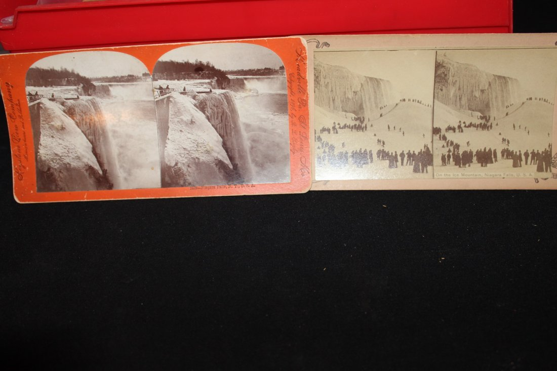 2 BEAUTIES OF 1896 - NIAGARA FALLS - GOOD COND.