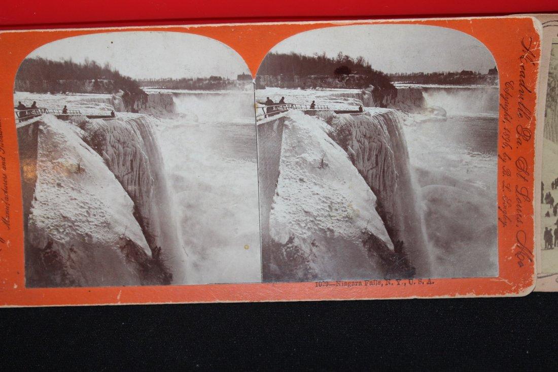 2 BEAUTIES OF 1896 - NIAGARA FALLS - GOOD COND. - 2