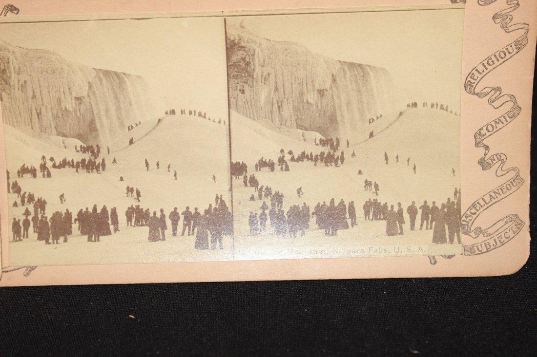 2 BEAUTIES OF 1896 - NIAGARA FALLS - GOOD COND. - 3