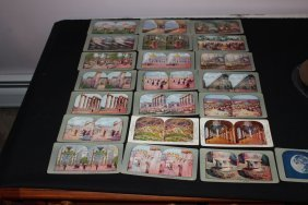 23 View Cards From Around The World - Good Cond.