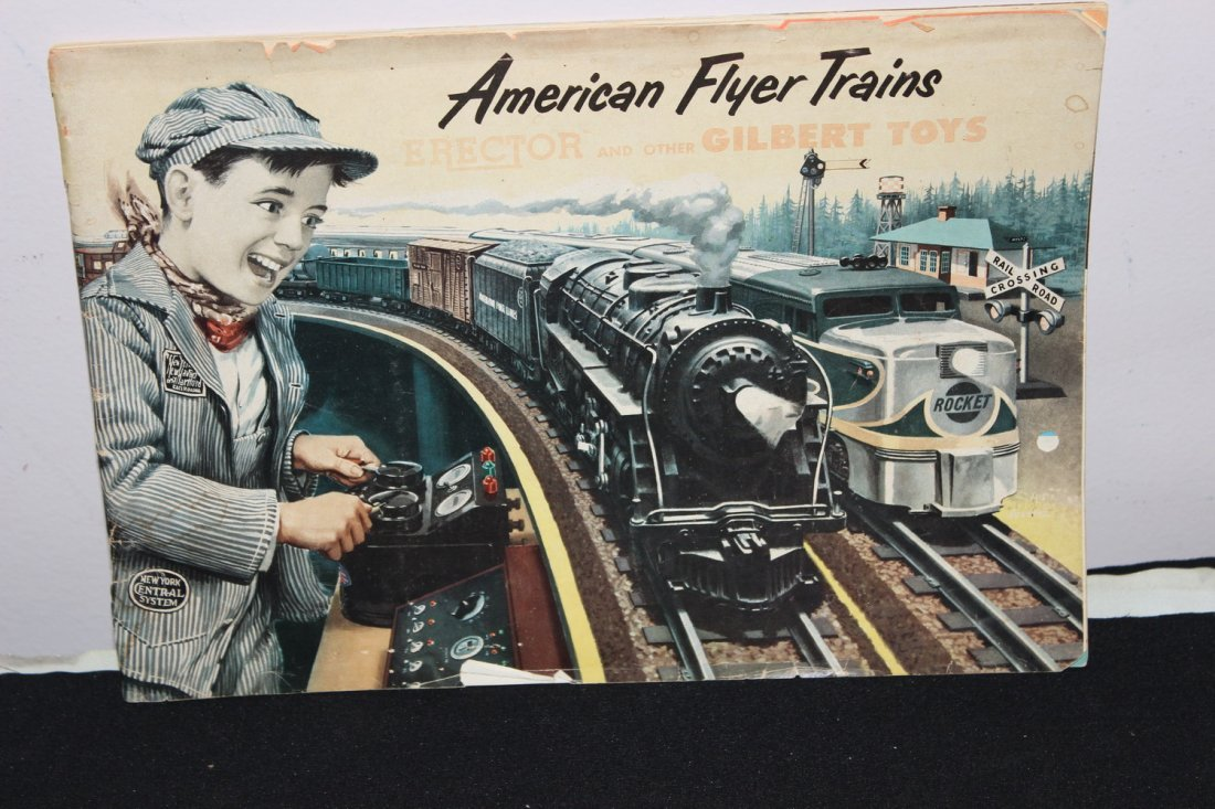 SUPER 51 PAGE AMERICAN FLYER TRAIN BOOKLET - GREAT