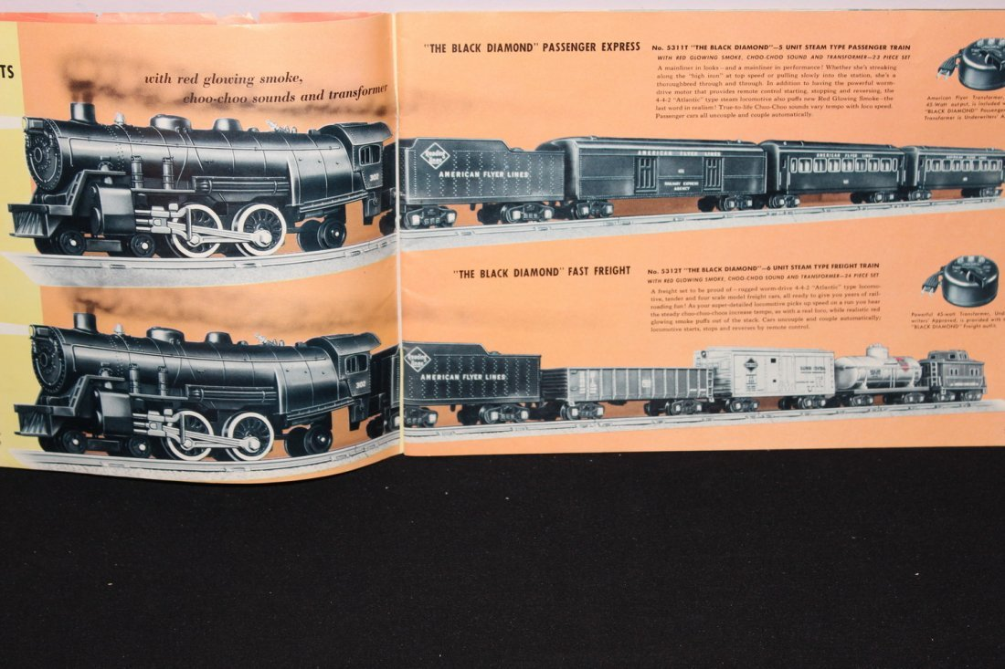 SUPER 51 PAGE AMERICAN FLYER TRAIN BOOKLET - GREAT - 2