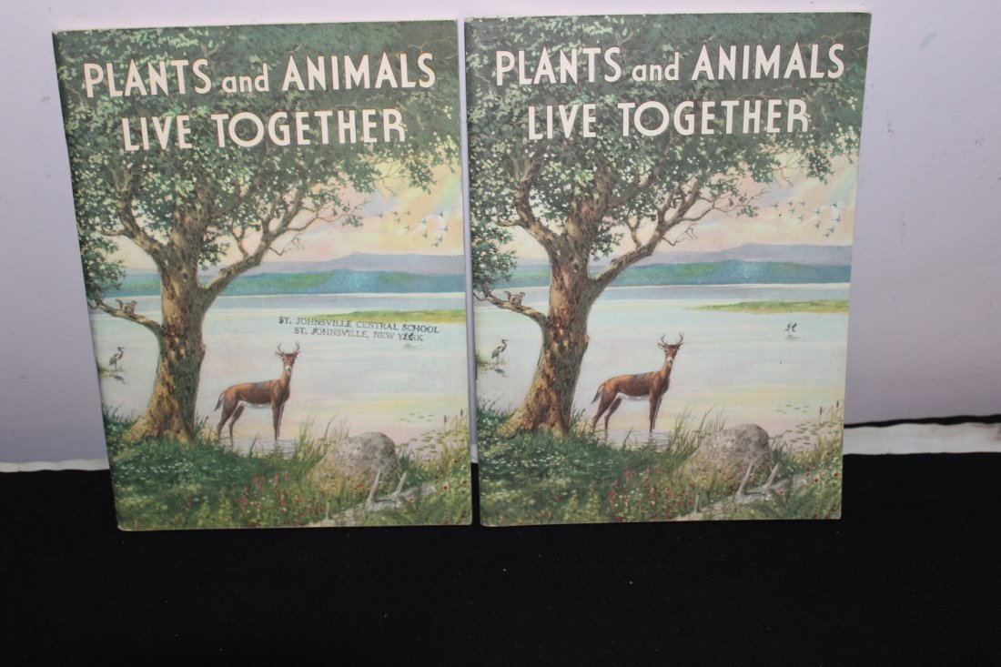 2 ISSUES PLANTS & ANIMALS LIVE TOGETHER- 1 ISSUE - 2