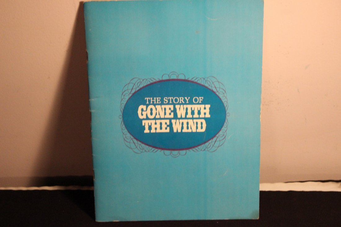 THE STORY OF GONE W/ THE WIND 1967 - 30 PAGES PACKED