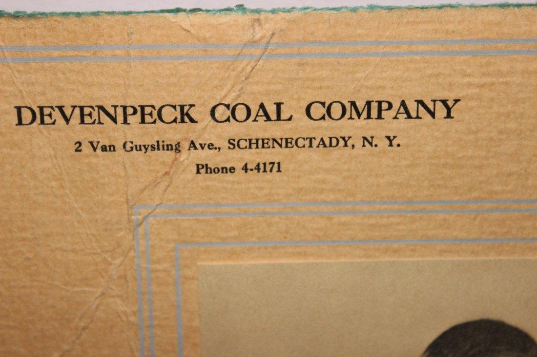 LOCAL INTEREST 1936 SCHENECTADY COAL CO. CALENDAR - - 5