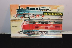 1968 & 69 Marklin Train Booklet In Exc. Cond. - Great