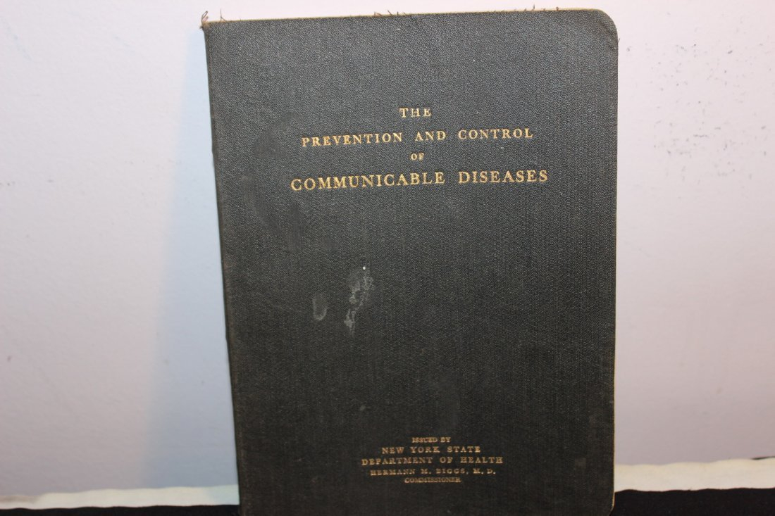 VERY GOOD COLLECTABLE BOOK FOR ALL MEDICAL COLLECTORS -