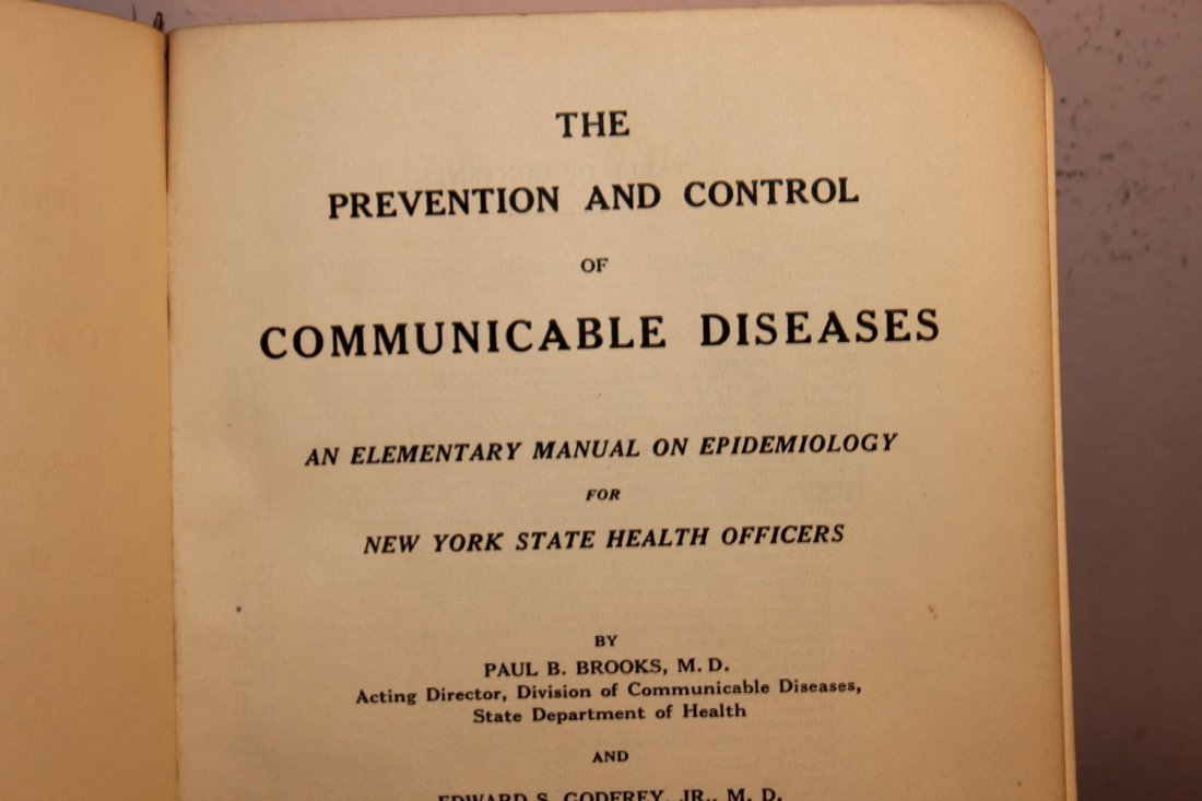 VERY GOOD COLLECTABLE BOOK FOR ALL MEDICAL COLLECTORS - - 4