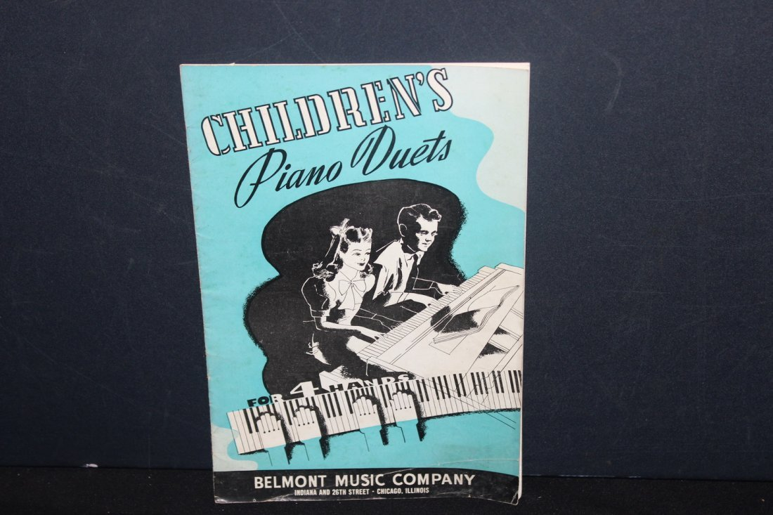 4 PAPER SONGBOOKS PUBLISHED BY BELMONT MUSIC CO. TWO - 3