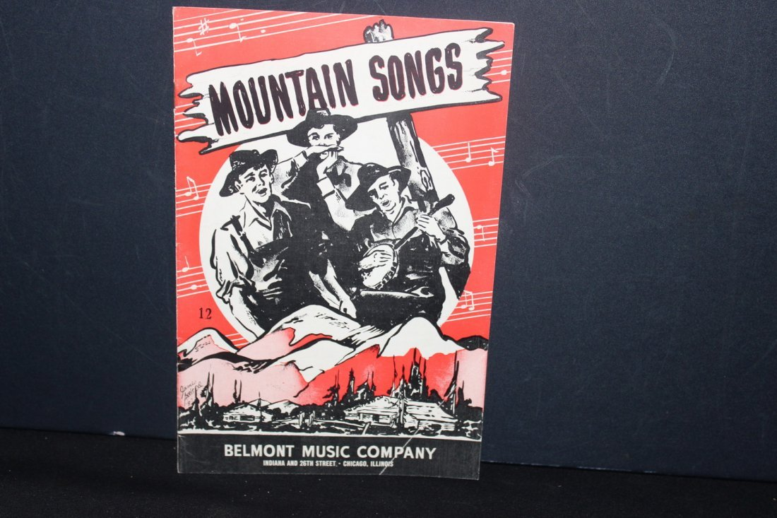 4 PAPER SONGBOOKS PUBLISHED BY BELMONT MUSIC CO. TWO - 4