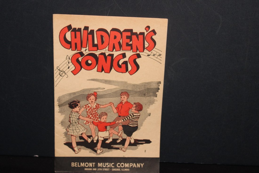 4 PAPER SONGBOOKS PUBLISHED BY BELMONT MUSIC CO. TWO - 5