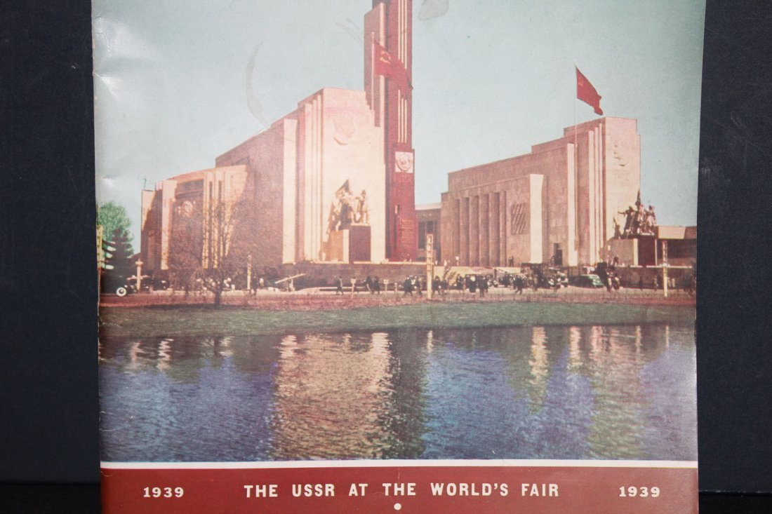 SUPER 78 PAGE MAGAZINE 1939 WORLD'S FAIR SOVIET RUSSIA - 2
