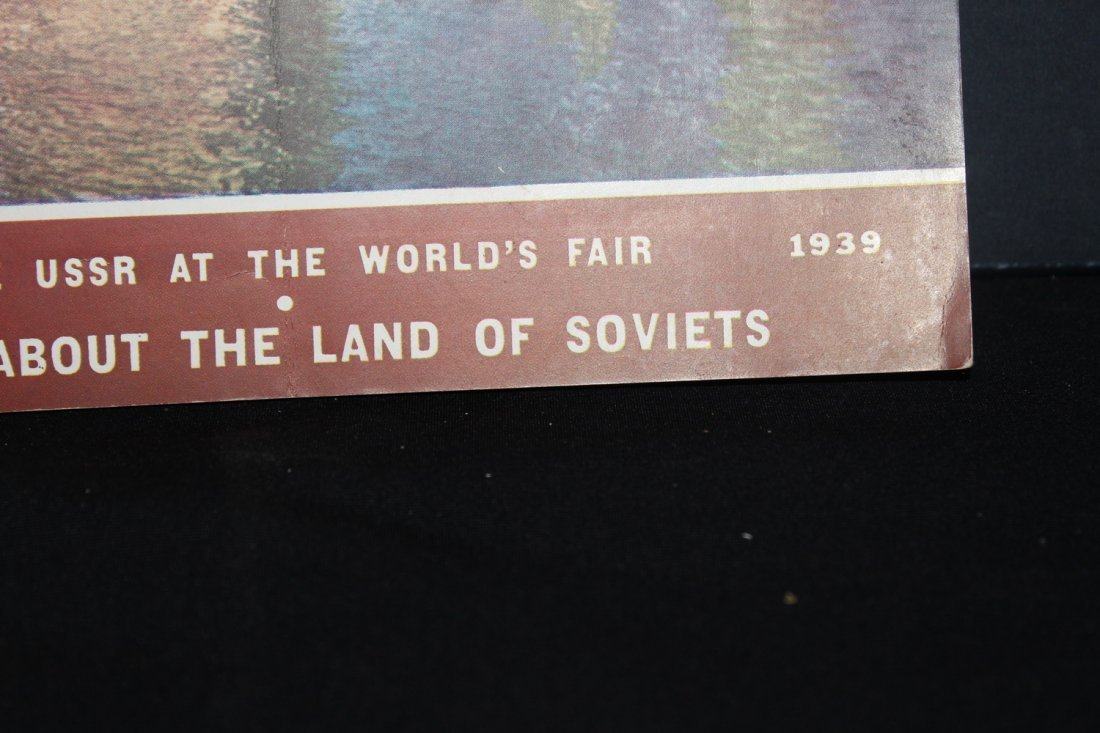 SUPER 78 PAGE MAGAZINE 1939 WORLD'S FAIR SOVIET RUSSIA - 3
