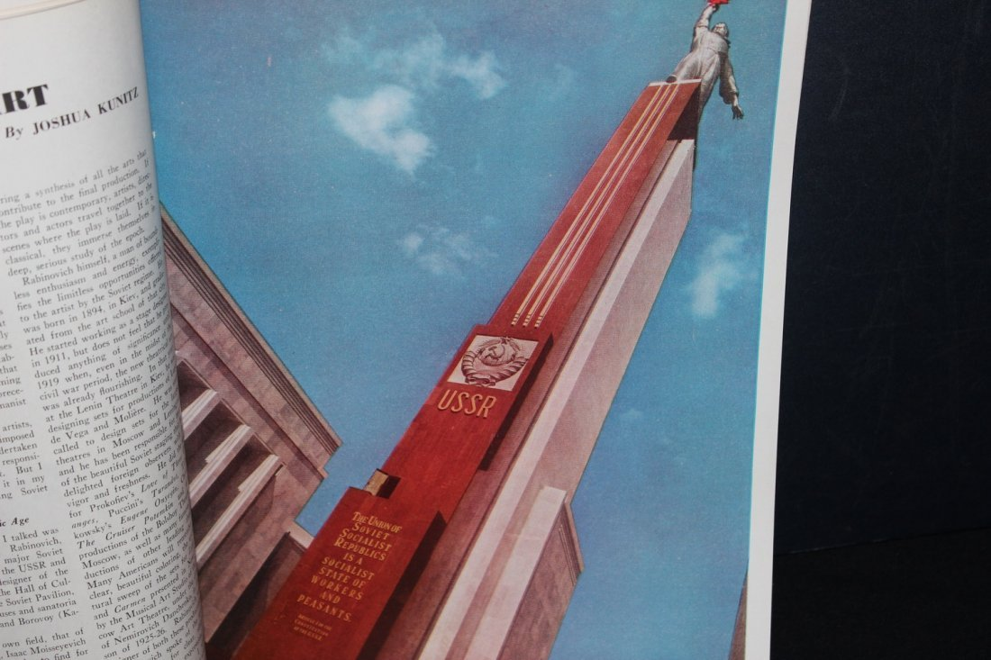 SUPER 78 PAGE MAGAZINE 1939 WORLD'S FAIR SOVIET RUSSIA - 4